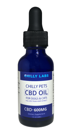 600mg CBD Oil for Dogs and Cats